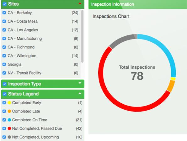 Mapistry inspection information