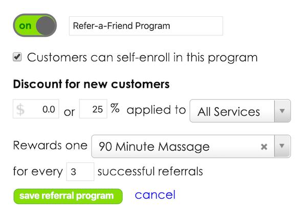 HelmBot marketing automation referral program
