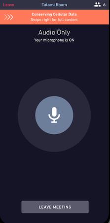 Mezzanine audio only