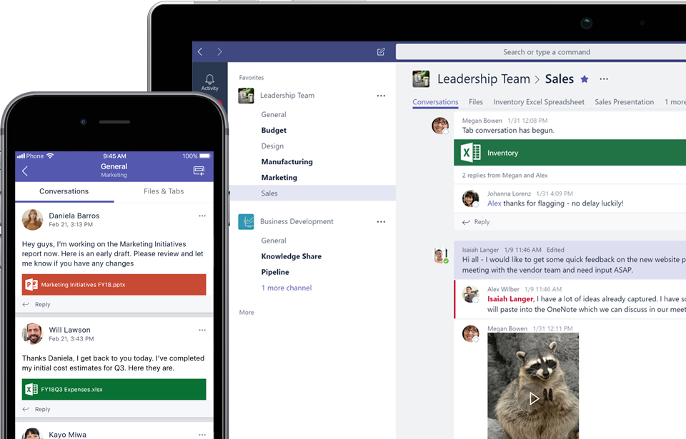 Microsoft Teams - Conversation