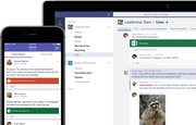 Microsoft Teams conversation
