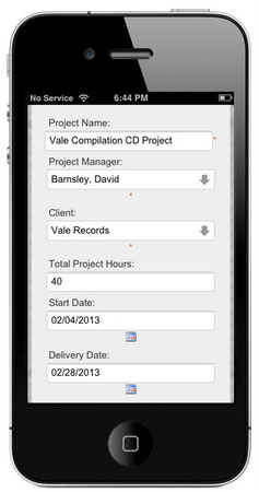 MobileHR Project Management