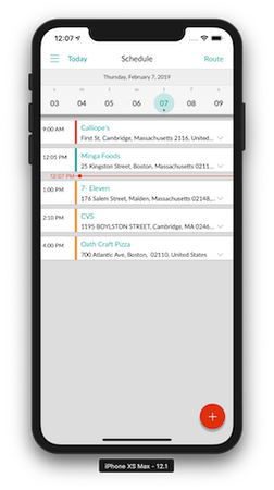 Repsly Mobile Scheduling