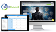 ClickClaims mobile user interface