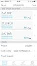 MobileXpense allowances dashboard screenshot