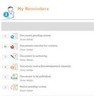 ComplyALIGN reminders screenshot