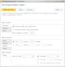 1C:Enterprise templates