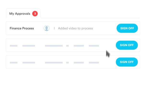Nintex Promapp dashboard screenshot