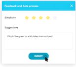 Nintex Promapp real-time feedback screenshot