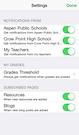 Mobile app notifications