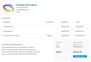 Demiks Admin online payment screenshot