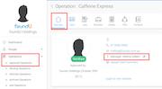 foundU operations management screenshot.