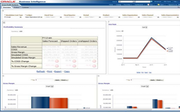 Oracle e-business suite gross profit analyzer screenshot