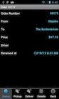 Digital Waybill - Order status
