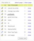 Oreka TR phrase tagging screenshot