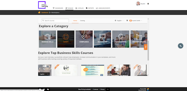 GnosisConnect over 1,000 pre-built courses