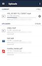 ownCloud uploads