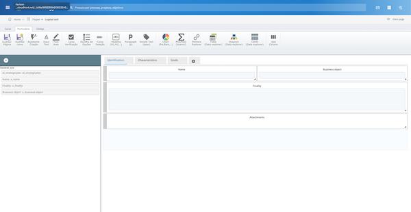 Elbiz Strategy page customization screenshot