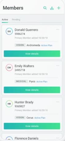 Patch mobile app screenshot
