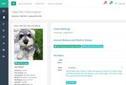 PawsAdmin view pet information
