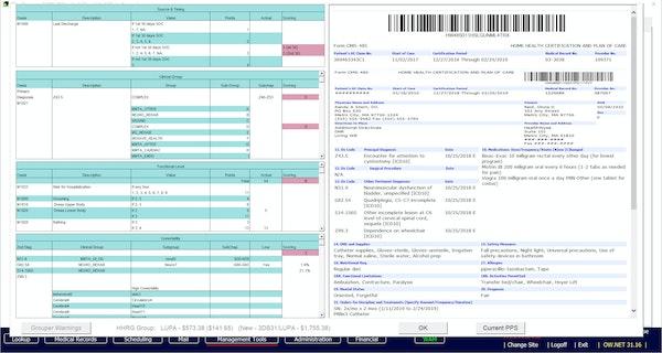 Casamba PDGM split-screen comorbidity