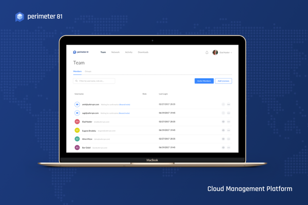 Perimeter 81 Cloud Management Platform