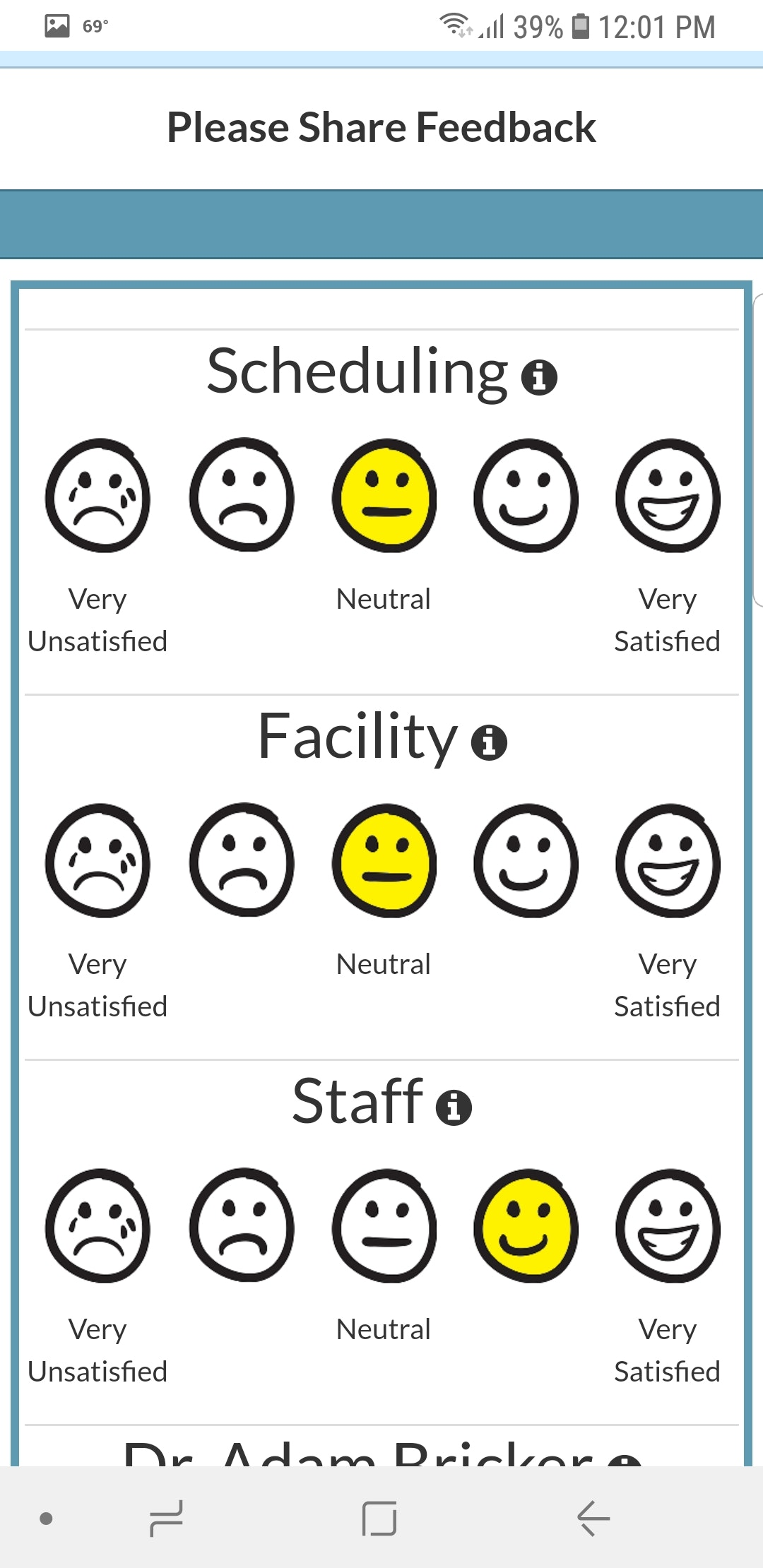 Patient Survey Capture
