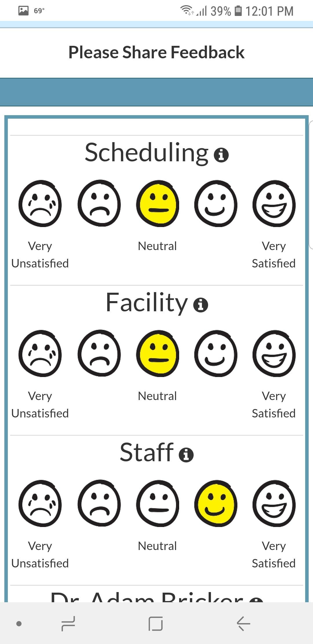 Simple Interact - Patient Survey Capture