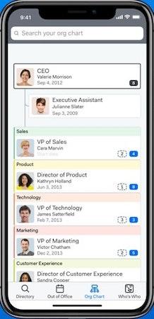 Pingboard mobile application
