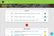 CareerArc activity tracker