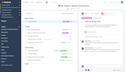 Asana - Asana dashboard view