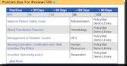 PolicyStat review screenshot