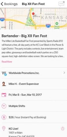 PopBookings event invitations