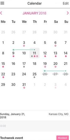 PopBookings calendar