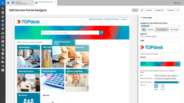 Portal designer