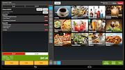 Tray POS order screen