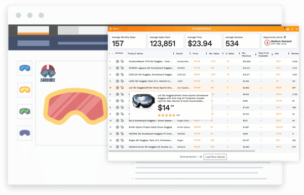 Jungle Scout product insights