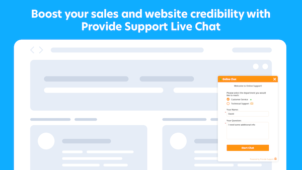 Prove Support live chat screenshot