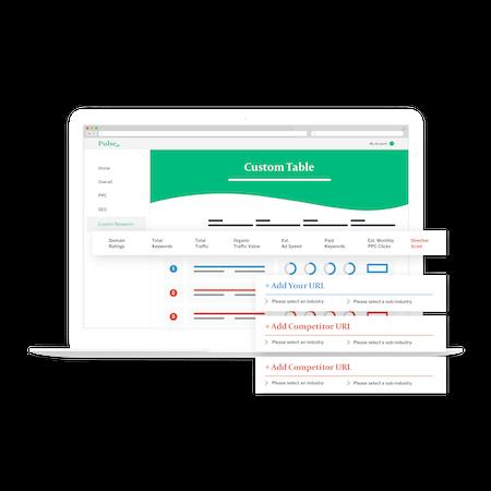 Pulse custom research screenshot