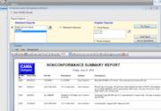 QCBD non conformance summary report