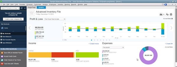 QuickBooks Enterprise Advanced Inventory File