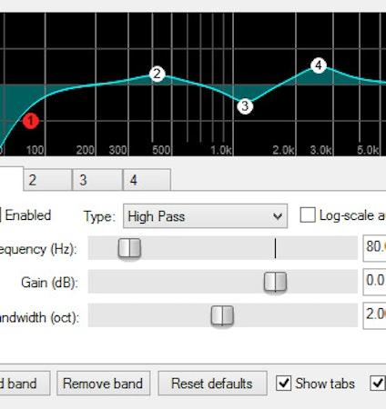 REAPER audio transformation