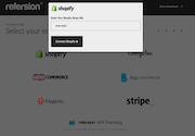 Refersion eCommerce integration screenshot