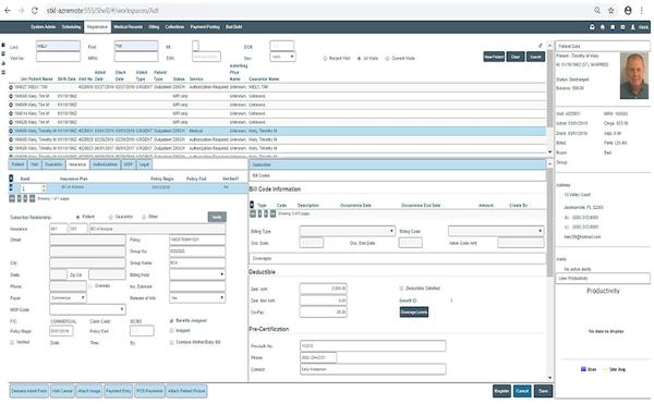 Wellsoft insurance registration