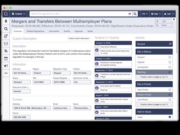 Quorum regulation overview screenshot