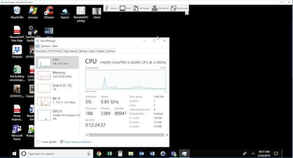 RemoteToPC remote desktop access