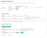 Rentals United booking details screenshot