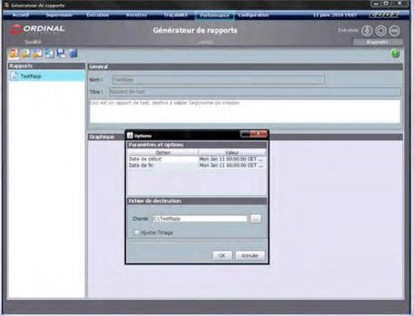 MESbox QPI report generation