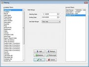 RetailEdge - Filter screen