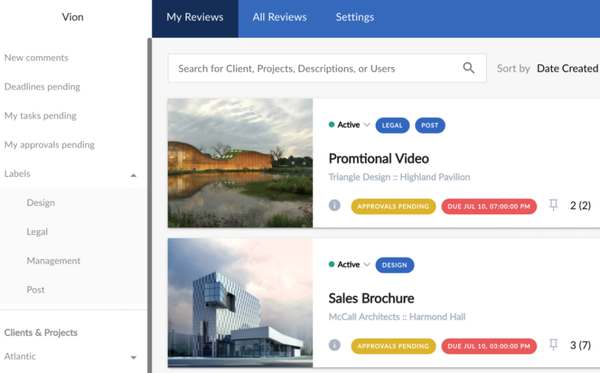 ReviewStudio review tracking